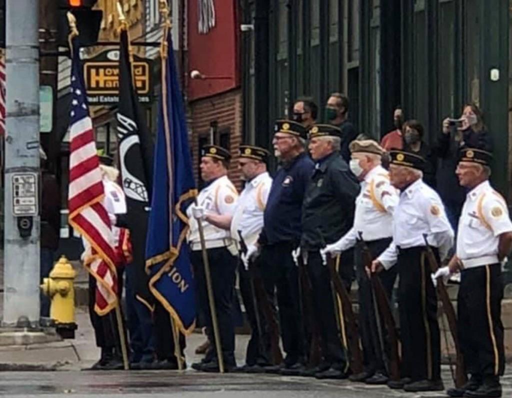 Falls Post #664 Honors Veteran's Day