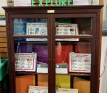 Local Girl Scouts Promote Programs at Mendon Public Library