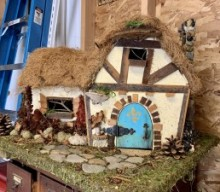 Fairy Houses on Display at Mendon Public Library