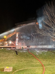 Fire destroys house on Clay Street in Lima