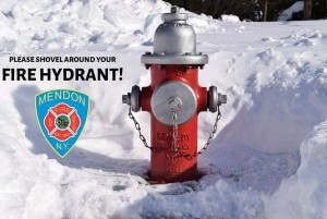 Area fire departments remind residents to clear snow from around hydrants