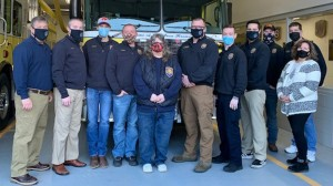 Honeoye Falls Fire Department officers sworn in