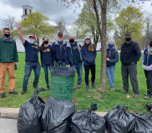 """HF-M Rotary celebrates Earth Day with """"clean up"""" event"""