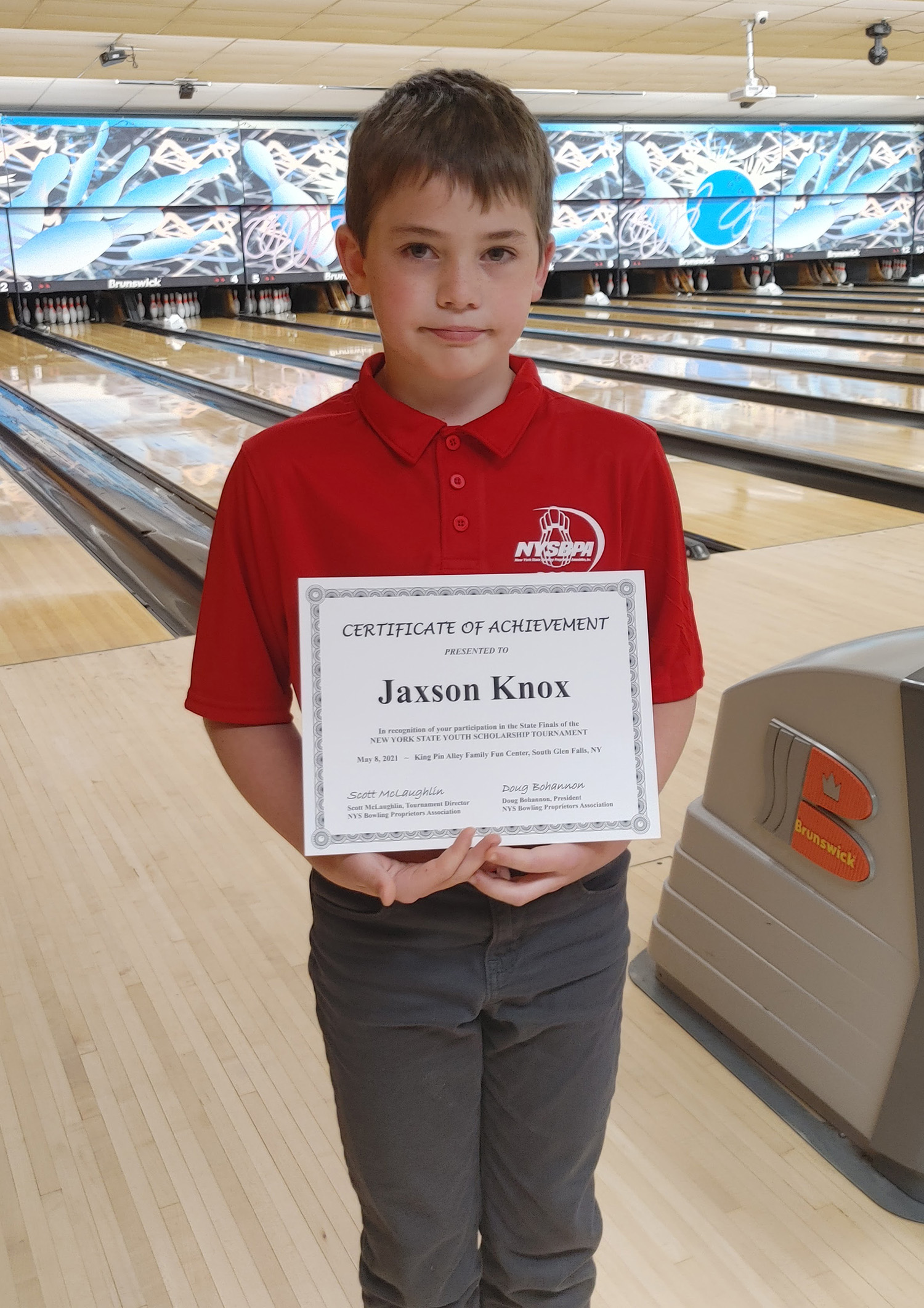 Local student places 6th in NY State Bowling Finals