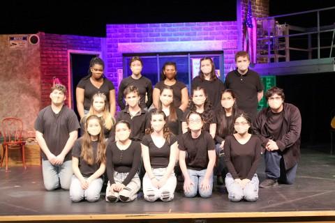 WC Musical cast