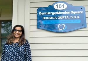 Dr. Bhumija Gupta establishes dental practice in Mendon
