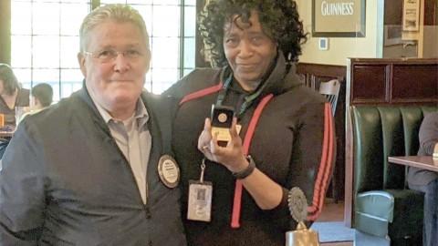 Honeoye Falls-Mendon Rotary President Linda Goodrum Receives Paul Harris Award
