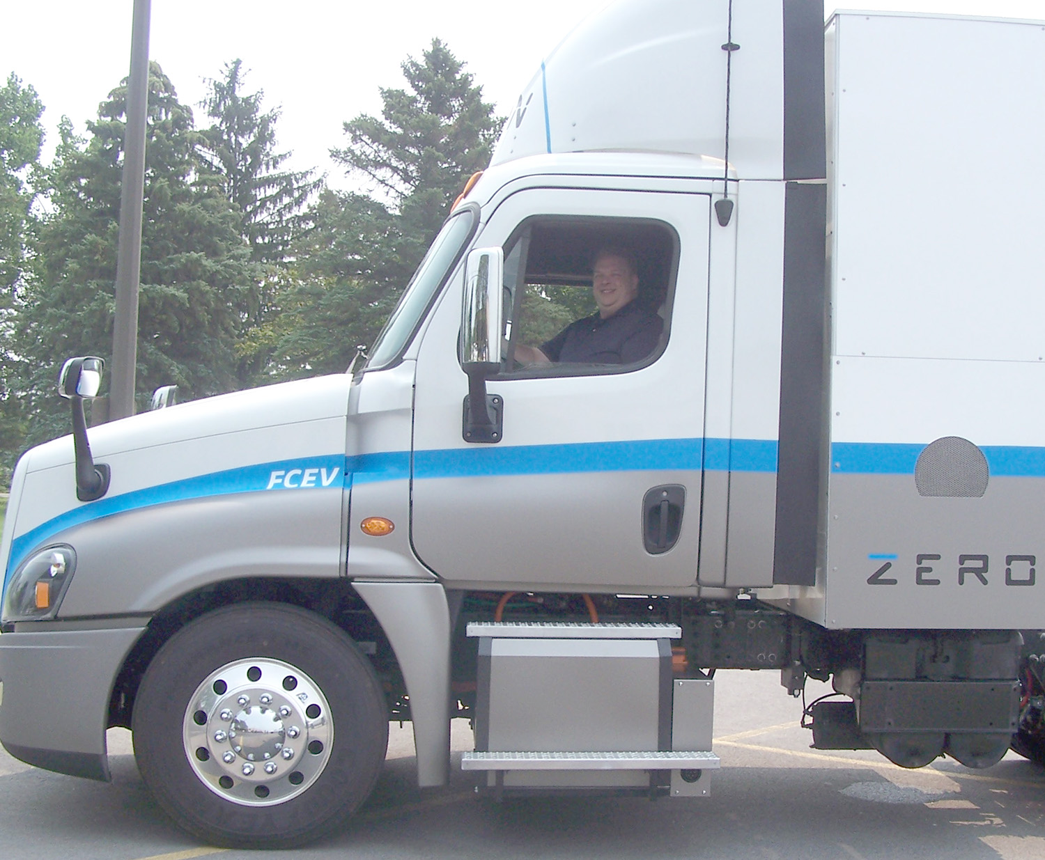 Hyzon's First Truck