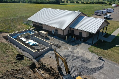 Livingston County Dog Control facility.