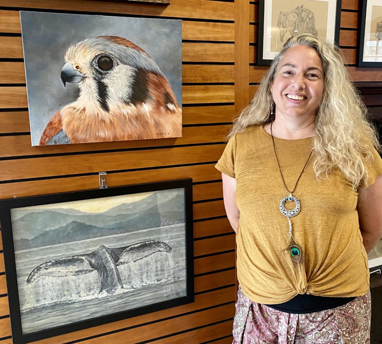 Local Teacher Michelle Garlock Shares Art At Mendon Public Library