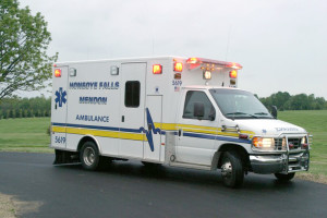 This is one of the HFMVA ambulances. Submitted photo
