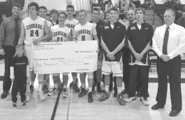 Cougar Classic basketball raises $1,800 for Lima kindergartener