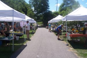 Drought taking a toll on farmers at Mendon Farmers Market