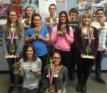 HF-L band students  bring home honors