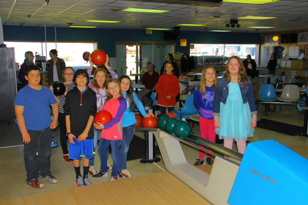 Big Birthday Bowling Bash for Bloomfield Girl