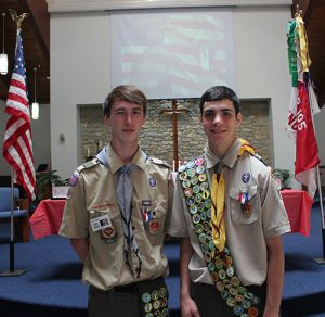 Mendon's Newest Eagle Scouts