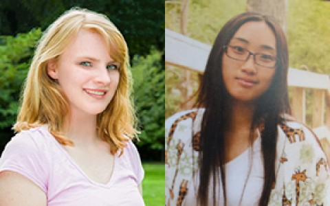 Appleton and Luo are Lima Christian's valedictorian and salutatorian
