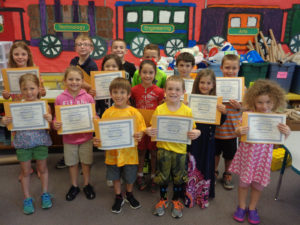 Lima Primary 1st graders receive leadership certificates