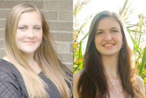 Russell and Vonglis are Wheatland-Chili's valedictorian and salutatorian